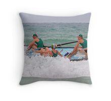 Mornington sideways at Anglesea Throw Pillow