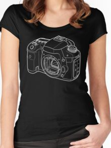 Photographer's best friend Women's Fitted Scoop T-Shirt