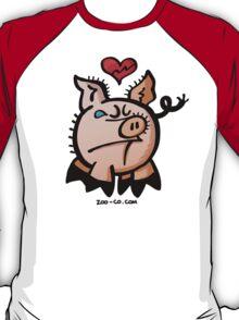 Broken Hearted Pig T-Shirt