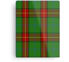 00113 Manitoba District Tartan  Metal Print