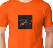 DETAILED DRAWING OF THE NIGHTMYRE (spaceship) Unisex T-Shirt