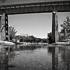 Erado Railway Bridge ~ Greenough River by Pene Stevens