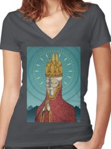 The Incongruent Women's Fitted V-Neck T-Shirt
