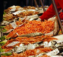 Venetian Fish Market by Christopher Cullen