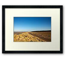 Holkham Dunes Framed Print