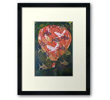 Flying Fish Fine Art Print by Heather Holland Framed Print