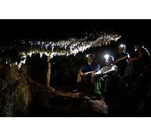 Basin Cave Photographic Print