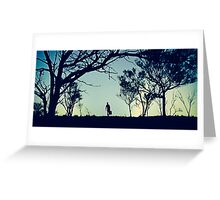 wake in fright... Greeting Card