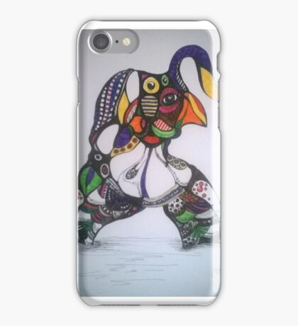 guess who3 iPhone Case/Skin