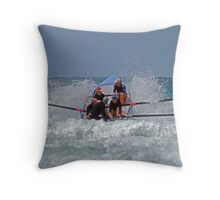 Fairhaven in the soup Throw Pillow