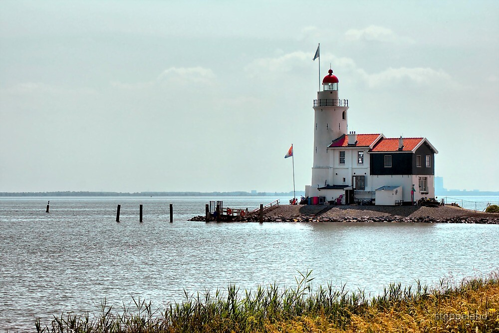 """Lighthouse """"The horse of Marken"""" HDR by steppeland"""