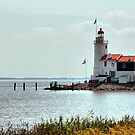 "Lighthouse ""The horse of Marken"" HDR by steppeland"