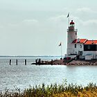 Lighthouse &quot;The horse of Marken&quot; HDR by steppeland