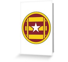 3rd Transportation Command (formerly 3rd Transportation Brigade) - US Army Greeting Card