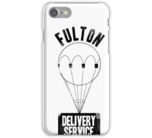 Fulton Delivery Service! (Distressed) iPhone Case/Skin