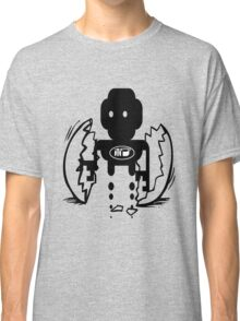 uk sci-fi robot birth by rogers bros Classic T-Shirt