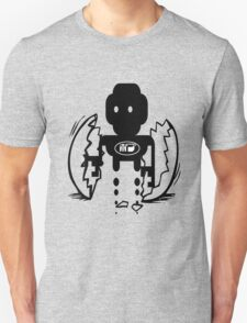 uk sci-fi robot birth by rogers bros T-Shirt