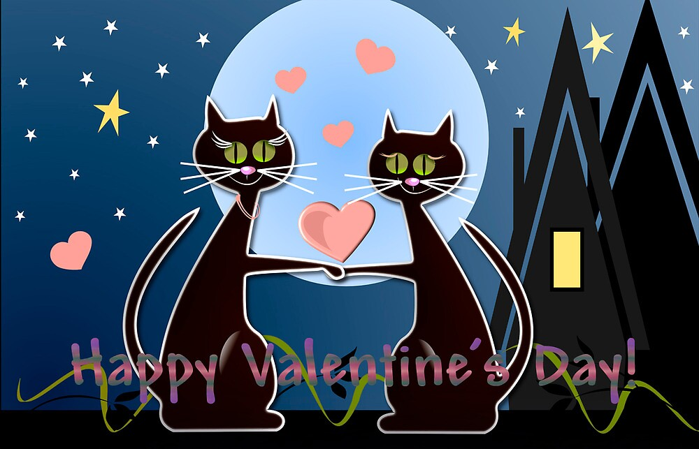 Happy Valentine's Day card by walstraasart