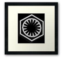 Star Wars First Order White - 1 Framed Print