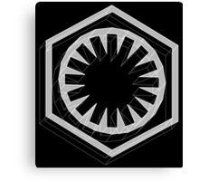 Star Wars First Order White - 1 Canvas Print