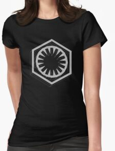 Star Wars First Order White - 1 Womens Fitted T-Shirt