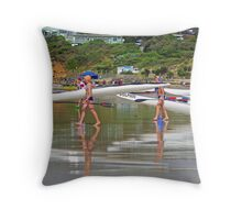 Anglesea reflections Throw Pillow