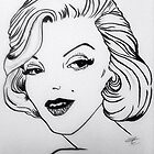 Marilyn Monroe by Kassey Ankers