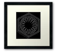 Star Wars First Order White - 2 Framed Print