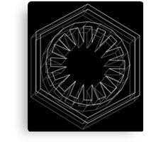Star Wars First Order White - 2 Canvas Print