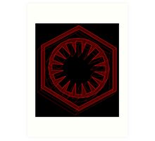 Star Wars First Order Red - 1 Art Print