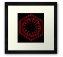 Star Wars First Order Red - 1 Framed Print