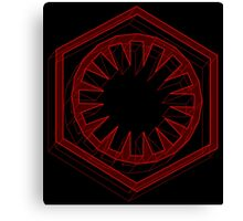 Star Wars First Order Red - 1 Canvas Print