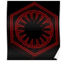 Star Wars First Order Red - 1 Poster