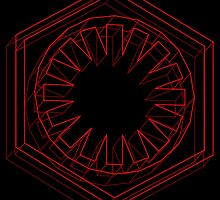 Star Wars First Order Red - 2 by andymania