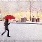 Antwerp in the Snow, Belgium by DaveTurner