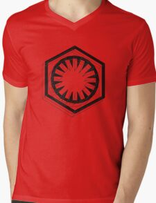 Star Wars First Order Black Mens V-Neck T-Shirt