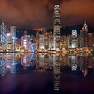 Skyline of Hong Kong 2015 by Delfino