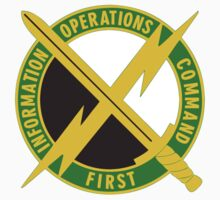 1st Information Operations Command (Land) - US Army Kids Tee