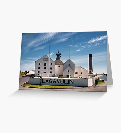 Islay: Lagavulin Greeting Card