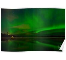 Aurora Reflections Poster
