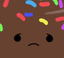 Chocolate Cupcake (Sticker) Sticker