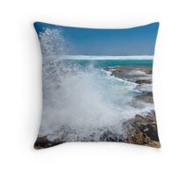 Rocking the rockpools II Throw Pillow