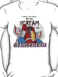 We All Scream for Starscream (light tee) T-Shirt
