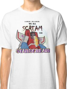 We All Scream for Starscream (light tee) Classic T-Shirt