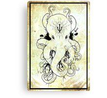 Octopus Psi Canvas Print