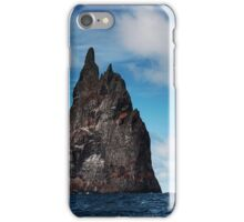 Pushing the Sea Stack iPhone Case/Skin