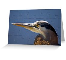 THE PUZZLE Greeting Card