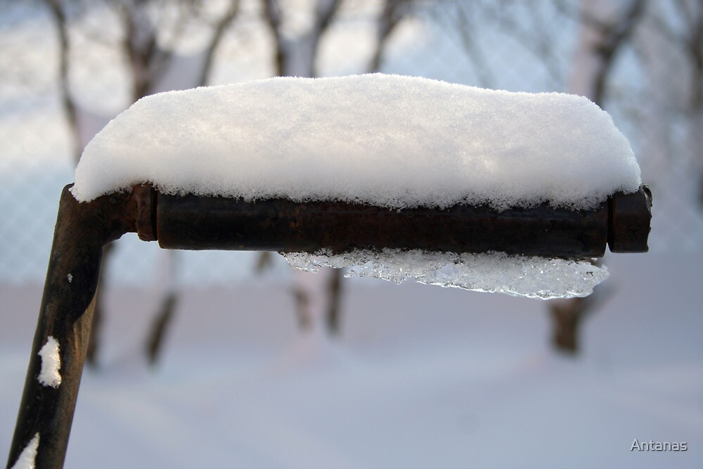 In winter 5 - well handle by Antanas