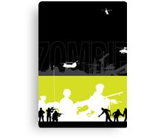Zombie Hunt Canvas Print
