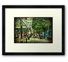 Lord St. Southport. Framed Print